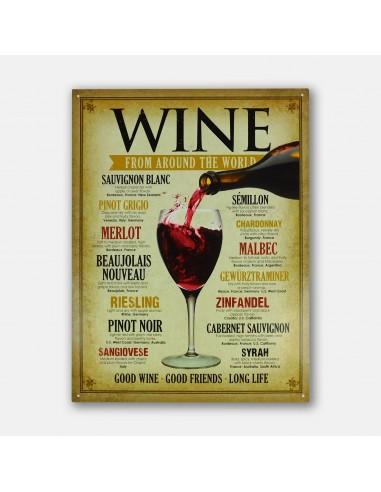 """16"""" Wine From Around The World Good..."""